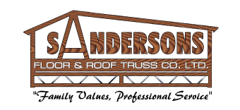 Welcome to Sandersons floor and roof trusses